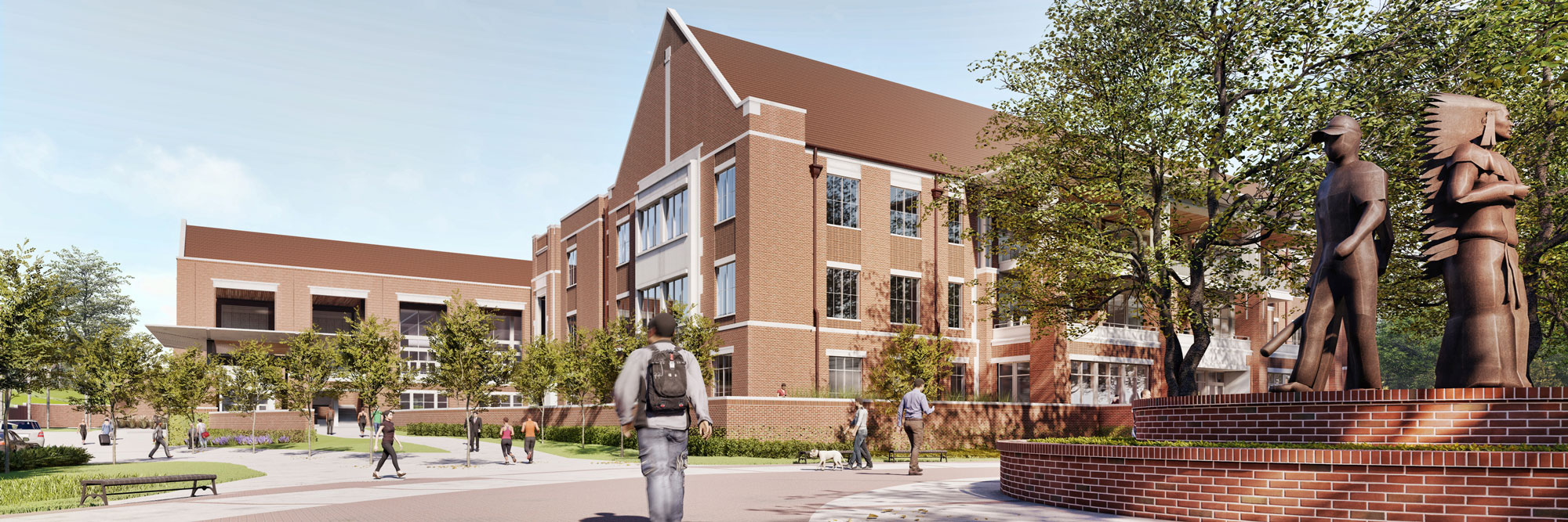 Photo rendering of new Student Union at Florida State University
